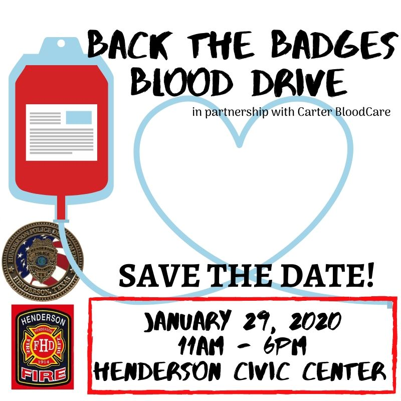 Blood Drive Save the Date