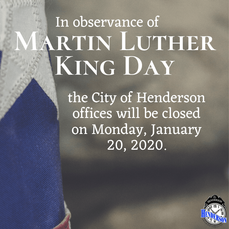 MLK Day Closure