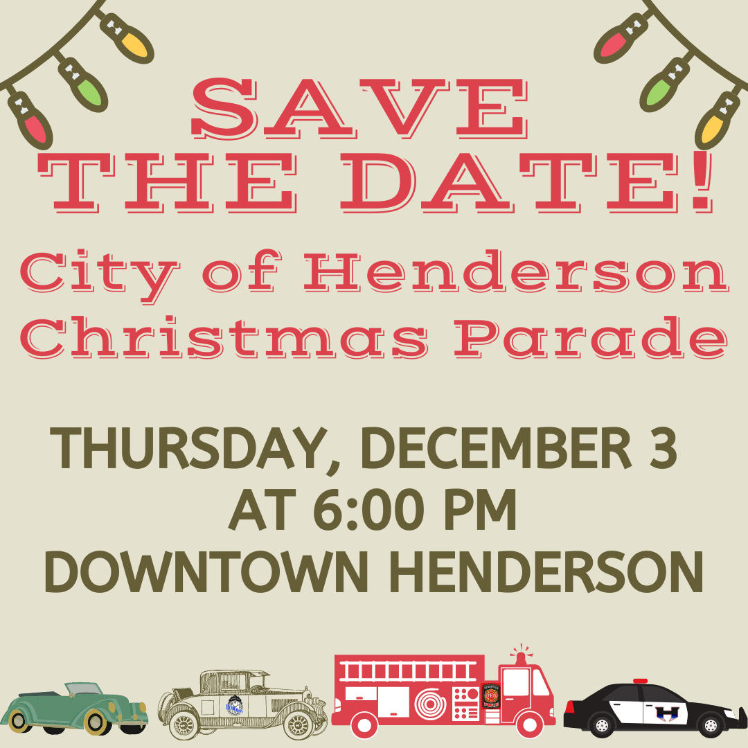 Christmas Parade - Save the Date
