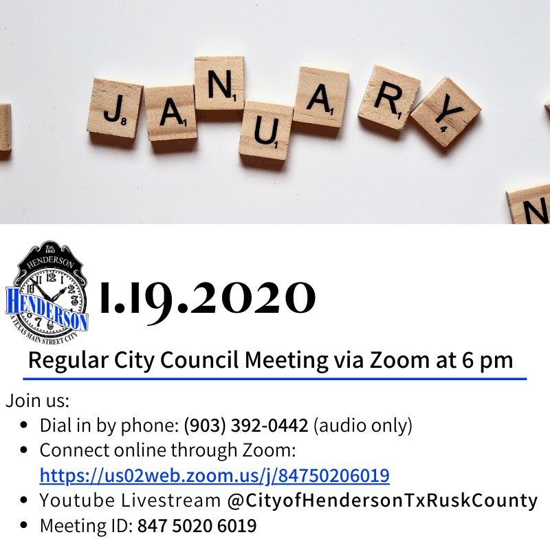 January Council Meeting 1-19