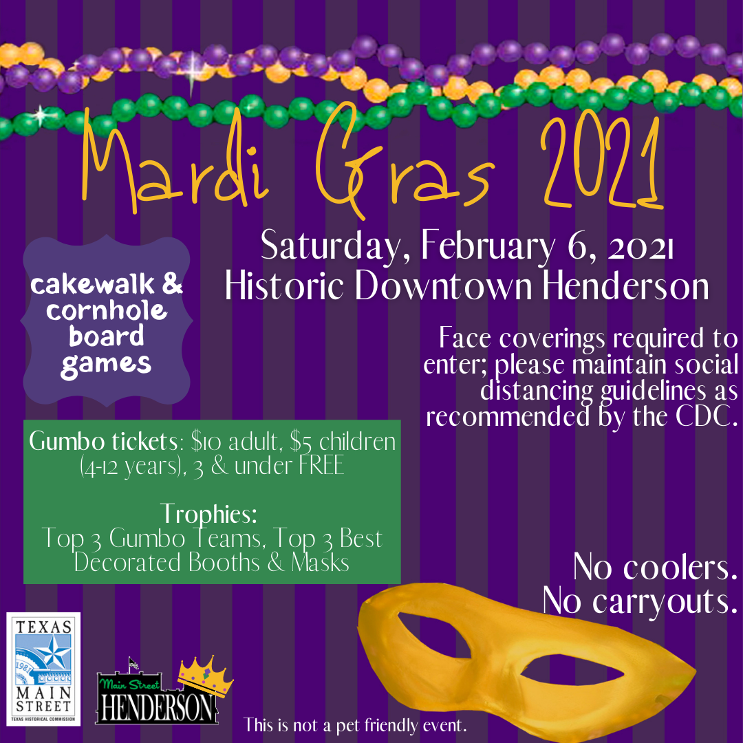 Website Mardi Gras 2021
