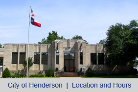 City of Henderson - Location and Hours