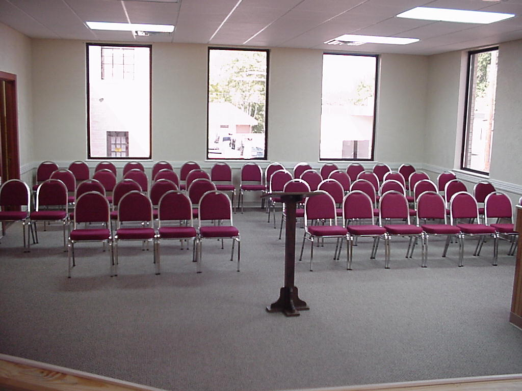 Renovated Council Room